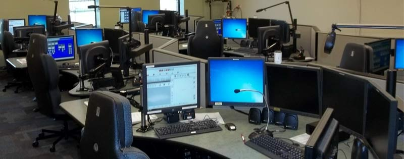dispatch console workstation desks