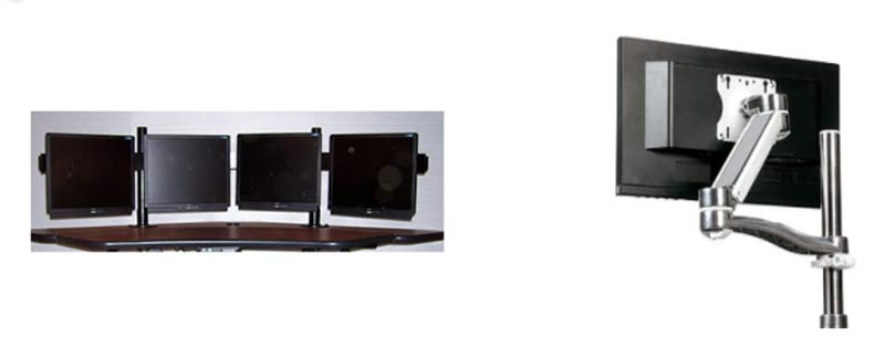 flat panel monitor mounts